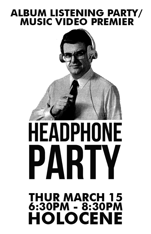 Headphone Party, Poster Artwork Design
