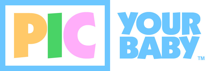 Pic Your Baby Logo Design