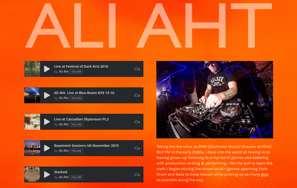 Ali Aht Website Work