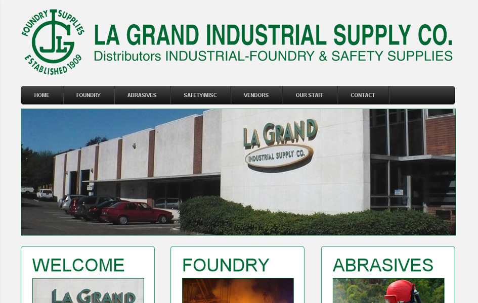 LaGrand Industrial Business Website
